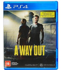 A Way Out - PS4 (Frete grátis Prime)
