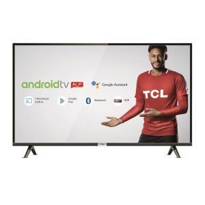 "Smart TV LED 32"" TCL Android, HDR, Controle com Comando de Voz, Google Assistant"