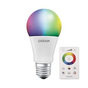 [Oferta Prime] Lâmpada Led Bulbo Osram RGB Osram, 7.5W | R$42