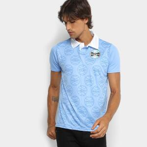 Camisa Polo Grêmio 1995 n° 9 Masculina – Azul - R$15