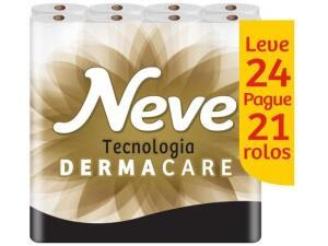 Papel Higiênico Folha Tripla Neve Supreme 24 Rolos - R$21