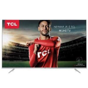 """Smart TV LED 50"""" TCL P6US Ultra HD 4K HDR - R$ 1.623"""