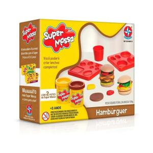 Massinha Super Massa Hambúrguer - Estrela - R$20