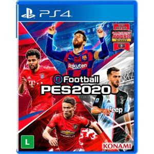 [Primeira Compra] Game EFootball PES 2020 - PS4 R$ 70