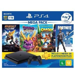 [R$ 1359 AME CC Americanas] PS4 1TB Edição Family - Sony