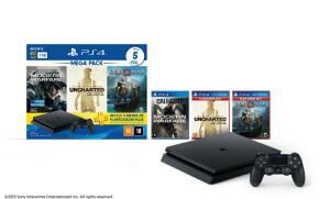 [R$ 1359,99 CC Americanas+AME] Playstation 4 1Tb - Bundle 3 jogos + 3 meses de PS Plus