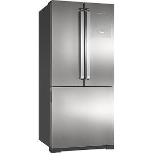 [CC SUB+AME R$ 3229] Refrigerador Brastemp Side Inverse BRO80 540 Litros Ice Maker Evox - R$3799