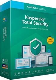 Kaspersky Total Security - 3 dispositivos 6 Meses Por R$34