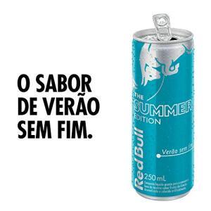 [Prime] Energético Verão sem Fim, Edição Limitada Red Bull com 4 Latas de 250ml R$ 22