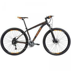 Mountain Bike Caloi Moab 27v, Freio hidráulico, Kit Alívio e Susp Rockshox   R$2800