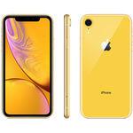 """iPhone XR 256GB Amarelo Tela 6.1"""" iOS 12 4G 12MP - Apple"""
