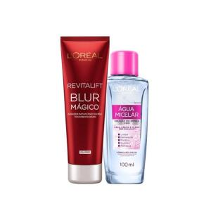Kit L'Oréal Paris Água Micelar 100Ml + Revitalift Blur - R$30
