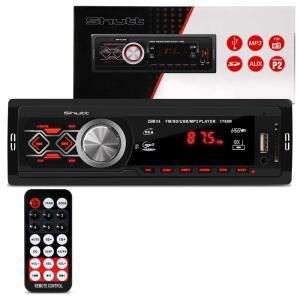 MP3 Player Automotivo Shutt Montana 1 Din 3.5 Polegadas USB | R$54
