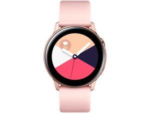 Smartwatch Samsung Watch Active Galaxy - Rosê 4GB - R$699