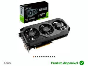 Placa de Vídeo NVIDIA GeForce GTX 1660 6GB, GDDR5 - TUF3   R$990