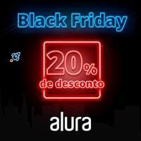 Black Friday Alura 20% de desconto