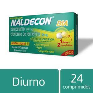 Naldecon Dia c/ 24 Comprimidos