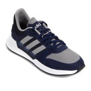 Tênis Adidas Run 90S - Azul e Cinza | R$260