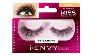 Cílios Postiços Kiss I-Envy   R$9