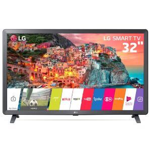 "Smart TV LED 32"" HD LG 32LK615BPSB com WebOS 4.0 Wi-Fi, Processador Quad Core, HDR 10 Pro, HDMI e USB"
