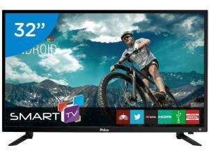 """Smart TV LED 32"""" Philco PTV32N87SA Android-Wi-Fi 2HDMI 2USB"""