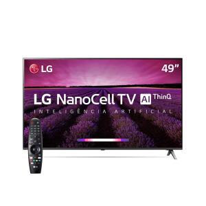"Smart TV LED 49"" UHD 4K LG"