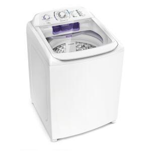 Lavadora Electrolux 14 Kg Branca Com Dispenser Autolimpante