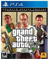 [PS4] Grand Theft Auto V: Edição Online Premium