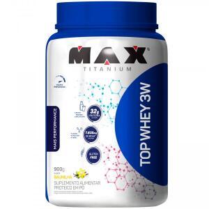 Top Whey 3W + Performance Max Titanium - Baunilha - 900g R$85