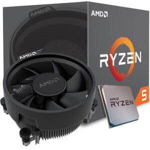 Processador AMD Ryzen 5 2600 3.4GHz (3.9GHz Turbo), 6-Core 12-Thread   R$699