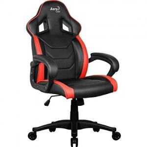 Cadeira Gamer Aerocool AC60C AIR EN57730 - Preto/vermelha