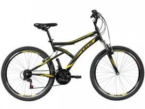 Bicicleta MTB Caloi Andes Aro 26 com 21 marchas