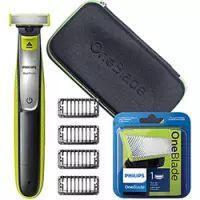 Kit Oneblade Qp2530 + Lâmina Oneblade Qp21050 + Necessaire Philips