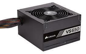 Fonte Corsair VS650 80 Plus White 650W CP 9020172