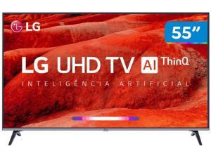 "[Clube Da Lu] Smart TV LED 55"" UHD 4K LG 55UM7520 ThinQ | R$2.136"