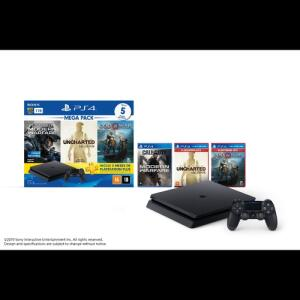 PS4 Slim Bundle God Of War + COD + Uncharted - R$1444