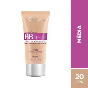 BB Cream L'Oréal Paris cor Média FPS 20 30ml - Incolor R$17