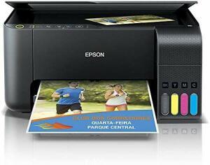 Impressora Multifuncional, Epson, EcoTank L3150, Tanque de Tinta, Wi-Fi R$719