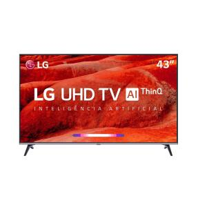 (Rappi/Carrefour) Smart TV LED 43' LG UM7500 Ultra HD 4K HDR Ativo R$1.274