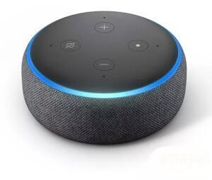 Smart Speaker Amazon Com Alexa Preto - Echodot R$ 189