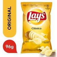 Batata Frita Lisa Clássica Lay's 96g (a partir de 6 unidades)