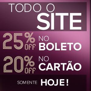 25% OFF NO BOLETO Click Sophia Lingeries