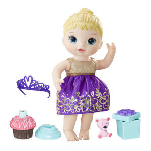 [CC Americanas] Boneca Baby Alive Festa Surpresa Loira E0596 - Hasbro R$60