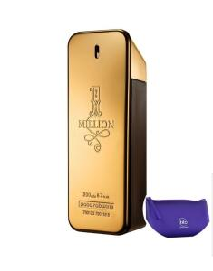 Perfume One Million EDT 200ml Paco Rabanne + necessaire Roxo | R$ 348