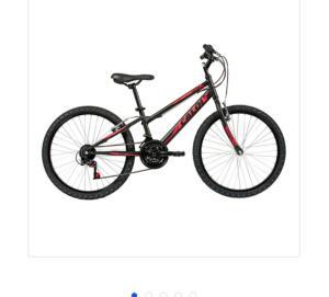 Bicicleta Caloi Aro 24 21 Marchas Max 24 Lazer Preta