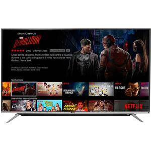 "[CC Shoptime] Smart TV LED Android TV 65"" Philco PH65G60DSGWAG UHD 4K | R$2.524"