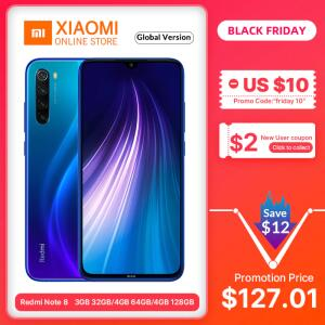 [AliExpress] Xiaomi Redmi Note 8 - Azul - 4Gb - 64gb - R$668