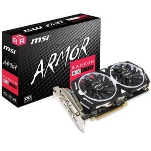 MSI AMD Radeon RX 570 Armor 4G OC, GDDR5