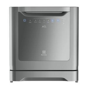 Lava-louças Electrolux 8 Serviços Cinza (le08s) | R$ 1514