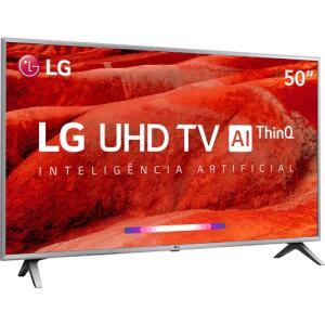 "[APP - R$: 1.439 AME] Smart TV LG 50"" LED Ultra HD 4K - 12x S/Juros"